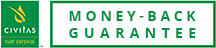 "Logo for ""Money-Back Guarantee"""